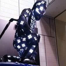 銀座SONYビルにてライトマンのデモ